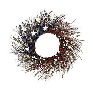 Americana Berry Wreath