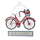 Celebrate Americana Together Welcome Bike Wall Decor