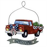 Celebrate Americana Together Welcome Truck Wall Decor