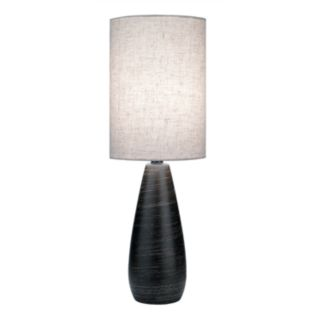 Quatro Brushed Mini Table Lamp