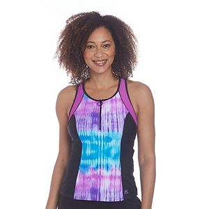 Women's ZeroXposur Monochrome Scuba Tankini Swim Top