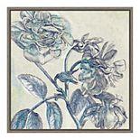 Amanti Art 'Belle Fleur I' Framed Canvas Wall Art