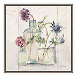 Amanti Art Blossoms on Birch II Framed Canvas Wall Art