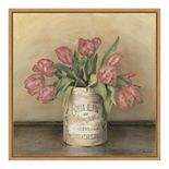 Amanti Art Royal Tulips Framed Canvas Print