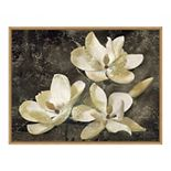 Amanti Art 'The Magnolia Tree' Framed Canvas Wall Art