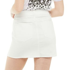 Juniors' SO® 5 Pocket Denim Skirt