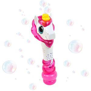 Maxx Bubbles Light & Sound Bubble Baton Unicorn