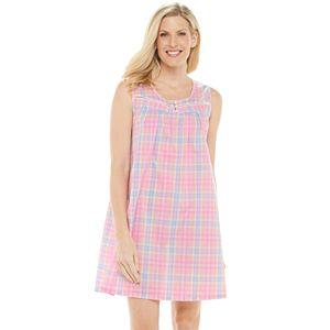 Women's Croft & Barrow® Pintuck Yoke Nightgown