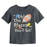 "Baby Boy Jumping Beans® Dr. Seuss ""Oh, The Places You'll Go!"" Graphic Tee"