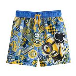 Toddler Boy Despicable Me Minions Swim Trunks