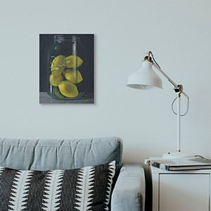 Stupell Home Decor Lemon Still Life Canvas Wall Art