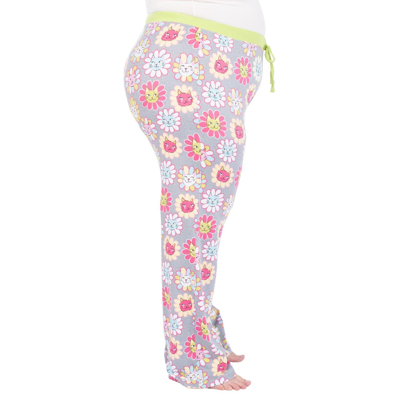 Plus Size Nite Nite by Munki Munki Pajama Pants