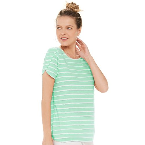 Women's ELLE™ Tulip Sleeve Tee