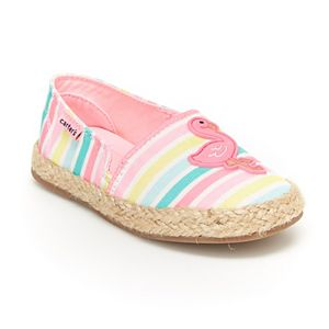 Carter's Ari Flamingo Toddler Girls' Espadrille Flats