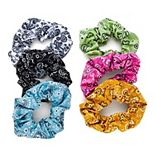 SO® Multicolor Bandana Scrunchie Set