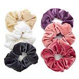 SO® Solid Corduroy Scrunchie Set