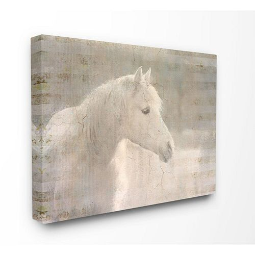 Horse Animal Watercolor Painting