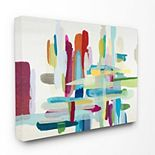 Stupell Home Decor 'Colorful Cross Hatch Abstraction' Wall Plaque Art