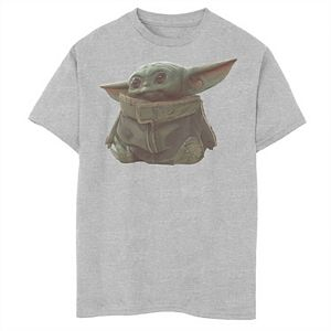 Boys 8-20 Star WarsThe Mandalorian The Child Portrait Graphic Tee