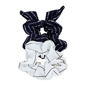 Women's 2-pack Striped Hair Scrunchies