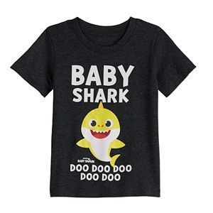 Toddler Boy Family Fun? Baby Shark Family Graphic Tee