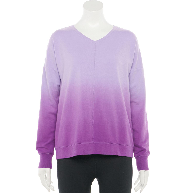 Women's Tek Gear® Tie-Dye French Terry Sweatshirt