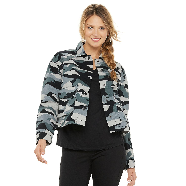 Women's Rock & Republic™ Cropped Utility Jacket