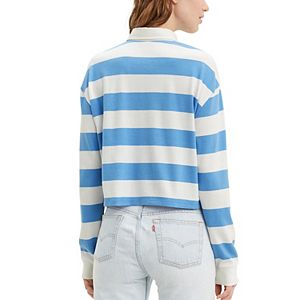 Women's Levi's® Striped Rugby Shirt