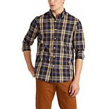 Big & Tall Chaps Classic-Fit Stretch Easy-Care Button-Down Shirt
