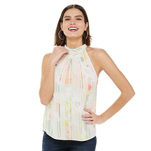 Women's Jennifer Lopez High Neck Shell Top