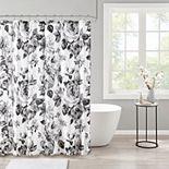 Intelligent Design Renee Floral Printed Shower Curtain