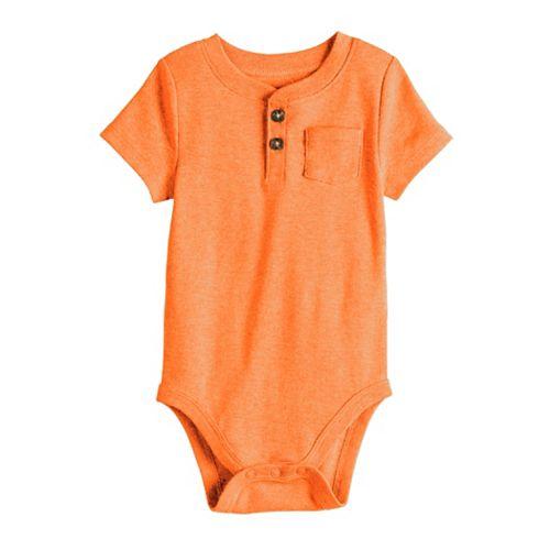 Baby Boy Jumping Beans® Henley Bodysuit