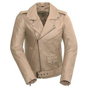 Women's Whet Blu Rebel Leather Motorcyle Jacket