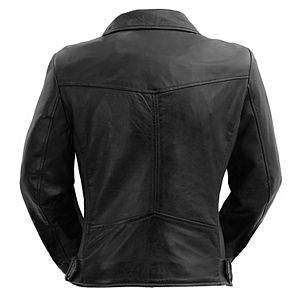 Women's Whet Blu Chloe Asymmetrical Leather Jacket