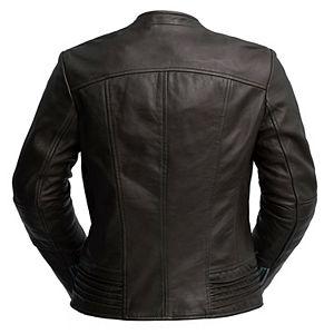 Women's Whet Blu Trish Asymmetrical Leather Jacket