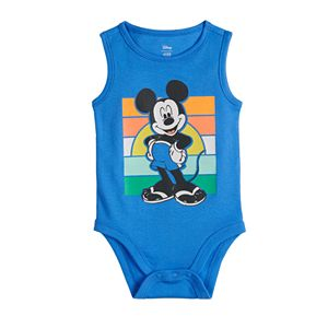 Disney's Mickey Mouse Baby Boy Tank Bodysuit by Jumping Beans®
