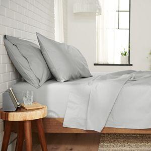 Happitat? Soft Rayon From Bamboo 4-Piece Sheet Set or 2-Piece Pillowcase Set