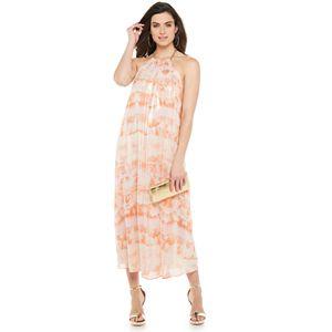 Women's Jennifer Lopez Chain Halter Maxi Dress