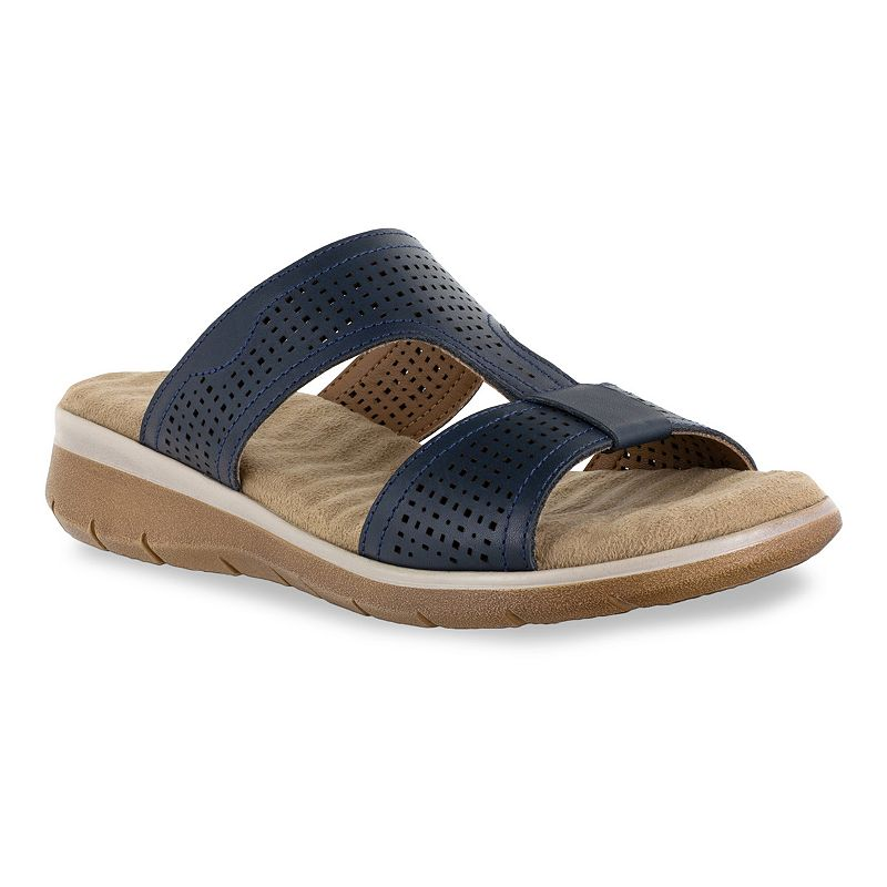 Easy Street Surry Comfort Wave Women's Sandals. Size: 10. Blue