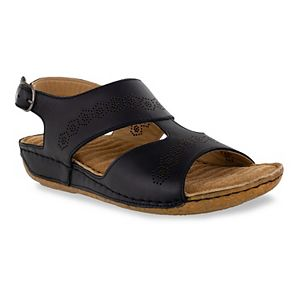 Easy Street Sloane Comfort Wave Women's Slingback Sandals