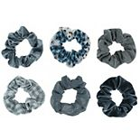 SO® Assorted Texture Scrunchie Set
