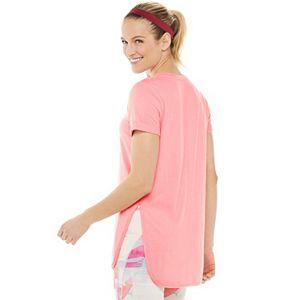 Women's Tek Gear® Roll-Sleeve Vented Tee