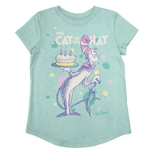 Girls 4-12 Jumping Beans® Dr. Seuss The Cat In The Hat Birthday Graphic Tee