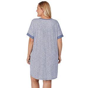 Plus Size Sonoma Goods For Life® Short Sleeve Sleepshirt