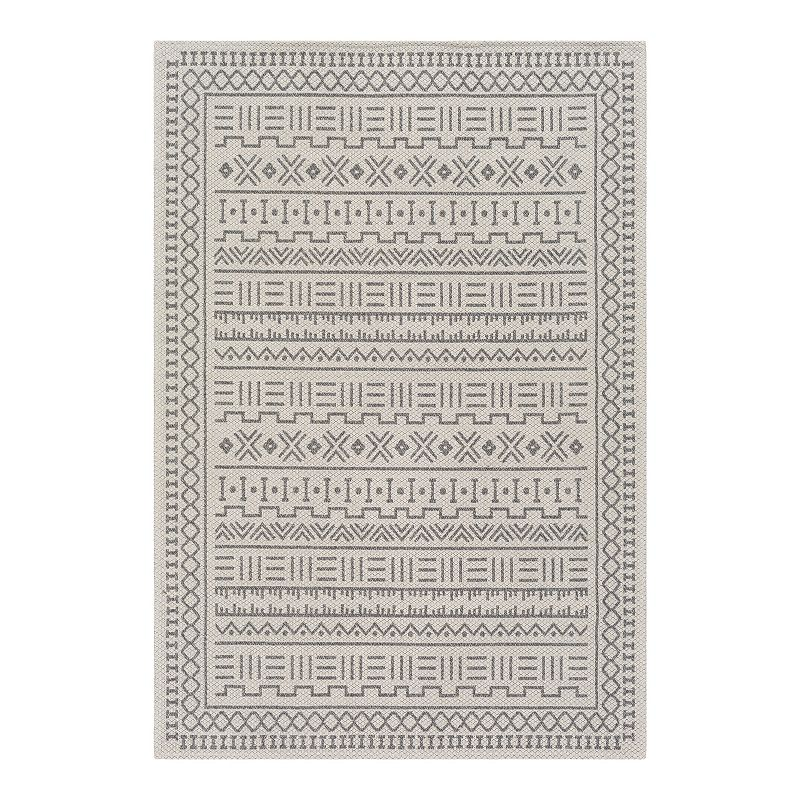 Decor 140 Lorian Abstract Area Rug, Grey, 2X4 Ft