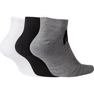 Men's Nike 3-pack Everyday Max Cushioned No-Show Socks