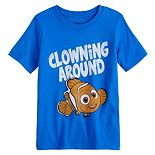 "Disney / Pixar Finding Nemo Boys 4-12 ""Clowning Around"" Graphic Tee by Jumping Beans®"