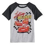 Disney / Pixar Cars Boys 4-12 Lightning McQueen Raglan Graphic Tee by Jumping Beans®