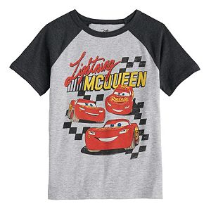 Disney CARS Lightning McQueen Ringer Tee T shirt for Baby brand new with tags