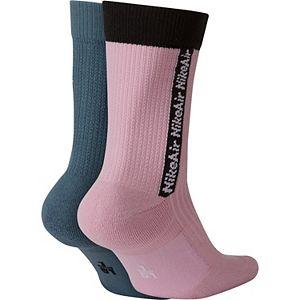 Men's Nike Air 2-pack SNKR SOX Unisex Crew Socks